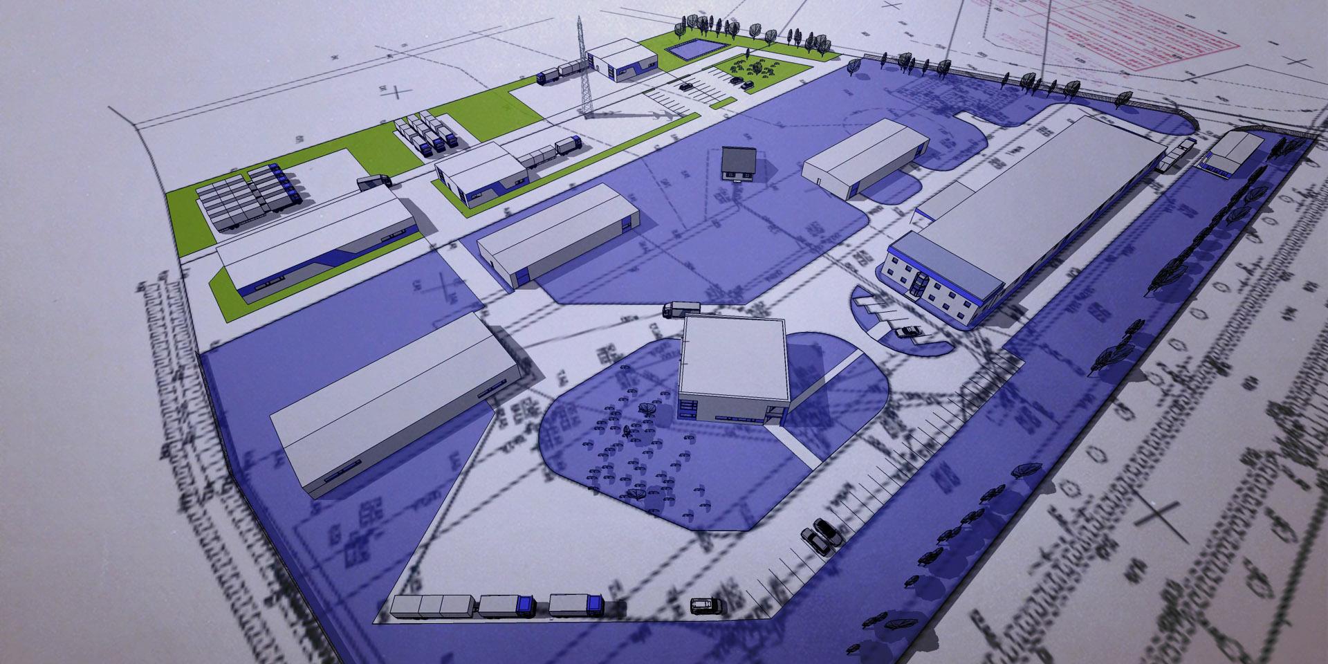 Projekty hal przemysłowych i analizy ekspansji firmy
